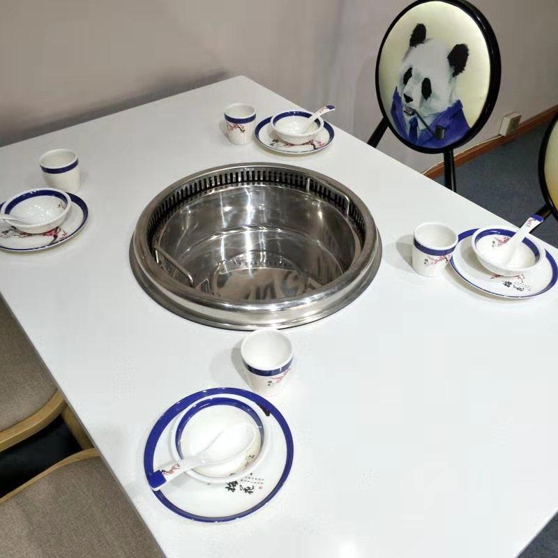 圓鍋無煙設備